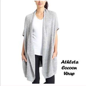👚🌸❤️Athleta Cacoon beautiful wrap cardigan ❤️